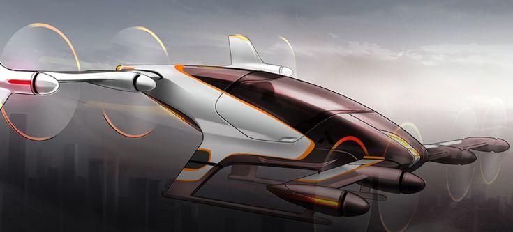 Авиатакси-автопилот на электрической тяге от Airbus